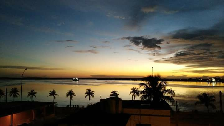cienfuegos - the sunset from rooftop of relais italia